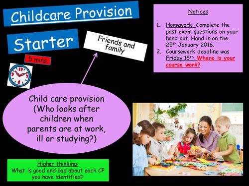 gcse child care coursework