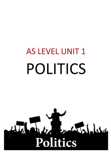 UNIT 1 POLITICS COMPLETE REVISION GUIDE