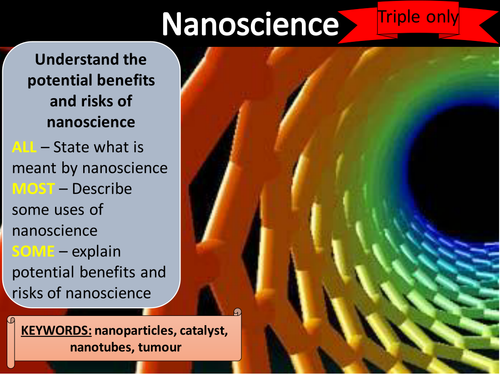 AQA trilogy GCSE Nanoscience (Triple only)