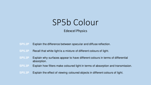 Edexcel 9-1 Physics SP5b colour