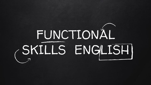 Functional  Skills English Presentational Features Sport themed