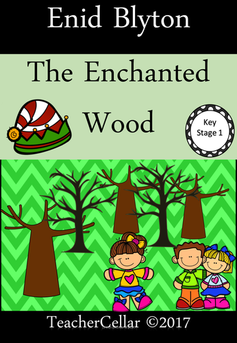 Reading The Enchanted Wood by Enid Blyton