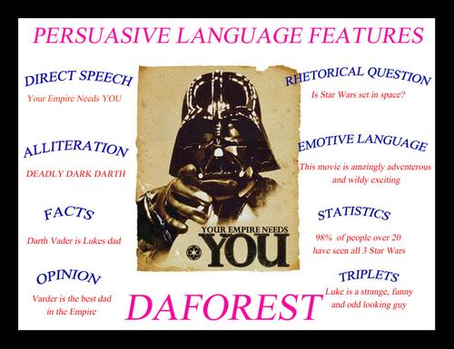 Star Wars inspired DAFOREST resource