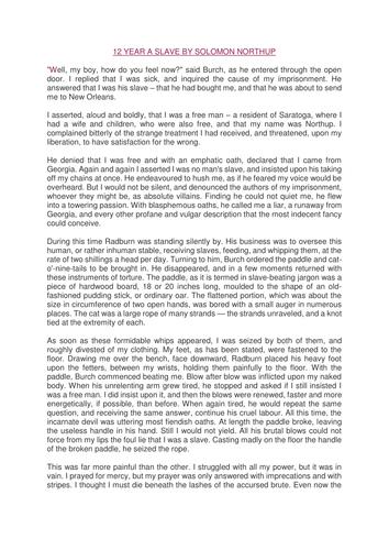 AQA Comparing Writer's use of language GCSE 1-9  Mandela and Northup extracts