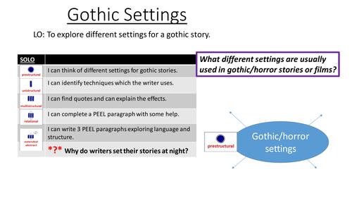 Gothic lessons bundle