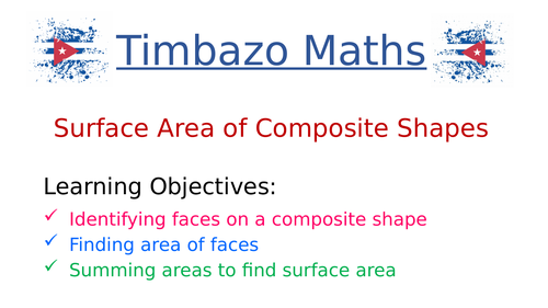 Surface Area of Composite Shapes