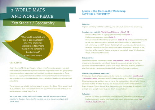 World maps and world peace by nnsm2 teaching resources tes gumiabroncs Image collections