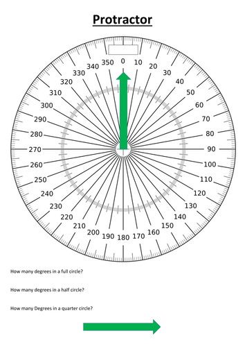 Admirable 360 Degree Protractor By Twewilletts Teaching Resources Wiring Database Numdin4X4Andersnl