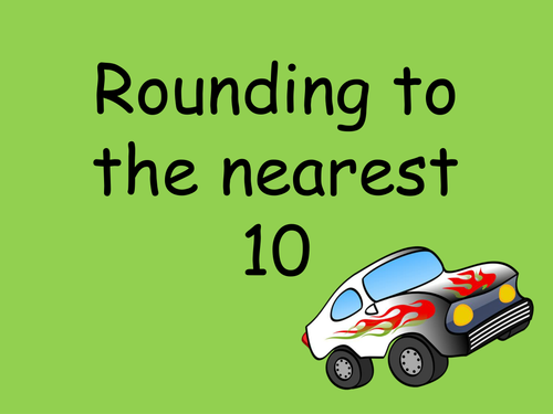 Rounding to the nearest 10 for 2 and 3 digit numbers