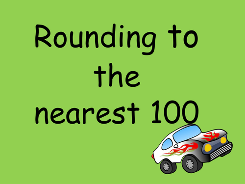 Rounding to the nearest 100 and 1000