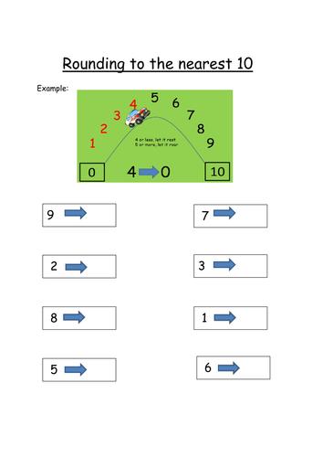 Rounding To The Nearest 10 By Catmac01 Teaching Resources