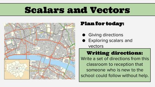 KS4 Lesson: Scalars and Vectors