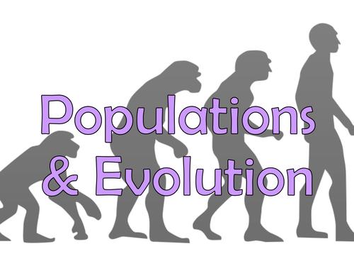 AQA A-Level Populations and Evolution