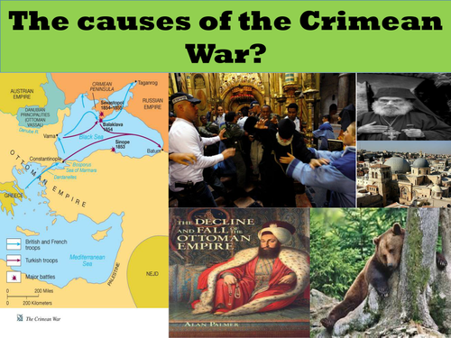 Edexcel British Experience of Warfare Topic 3 The Crimean War 18541956