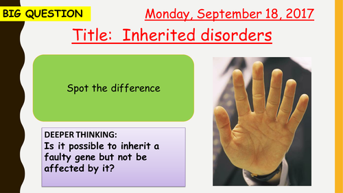 AQA new specification-Inherited disorders-B12.6-TRILOGY