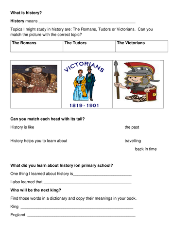 Introduction to history and the Normans