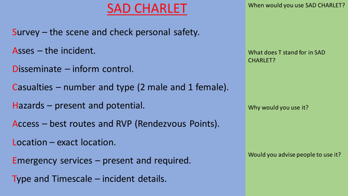 SAD CHARLET REVISION: UNIT 13 COMMAND AND CONTROL IN PUBLIC SERVICES