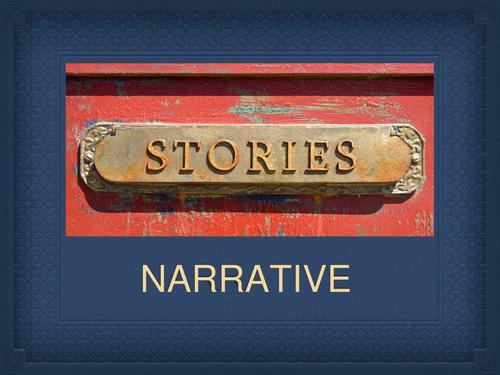 Creative writing: narrative