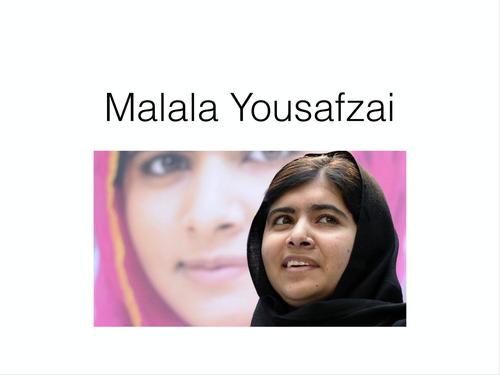 The Study of Spoken Word / Language Techniques / Speeches - Malala Yousafzai
