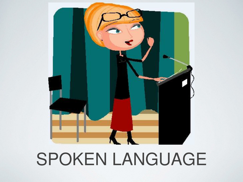 Lesson 1 in The Study of Spoken Language / Speeches - Introduction and Purpose