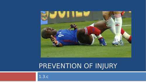 Injury Prevention and Hazards GCSE PE