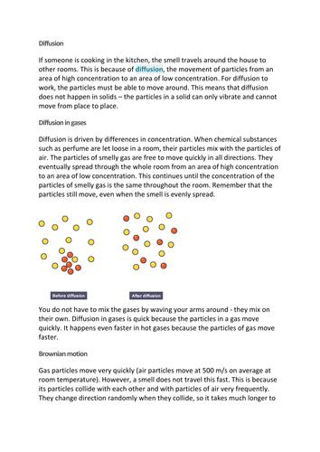 Brownian motion Comprehension