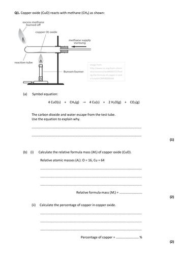 GCSE chemistry revision resources | Tes