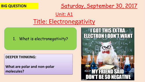 Pearson BTEC New specification-Applied science-Unit 1-Intermolecular forces/electronegavtivity