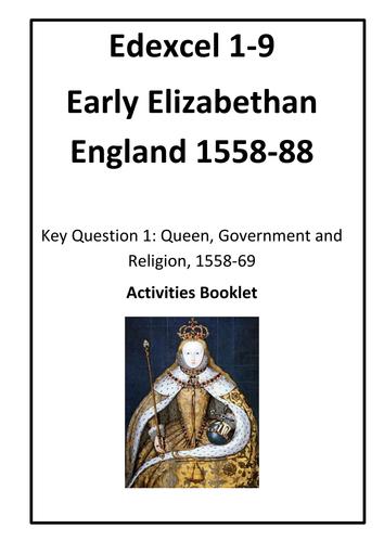 Elizabethan England- Revision