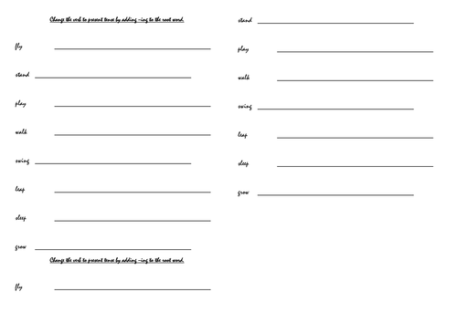 Year 1 English plan (20 lessons)  based on the book Grandad's Island