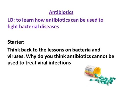AQA Biology GCSE New Specification - Antibiotics and Antibiotic Resistance