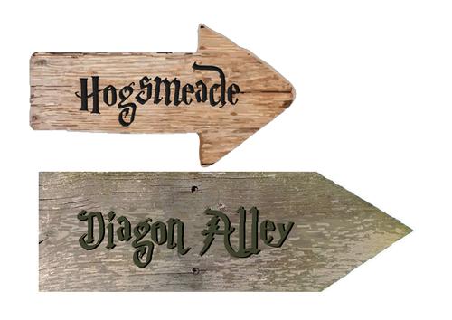 Harry Potter Sign Posts