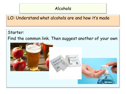 NEW AQA GCSE Chemistry Alcohols