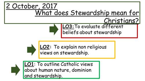 1.1.4 Stewardship and Dominion (Catholic/Divergent)