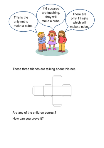 Cube Net Problem Solving