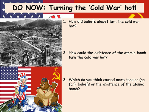 lessons from a cold war