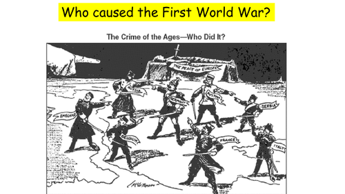 Was Germany to Blame for World War One?