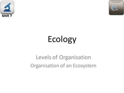 AQA Biology 4.7 Ecology – L8 Decay (including biogas generators)