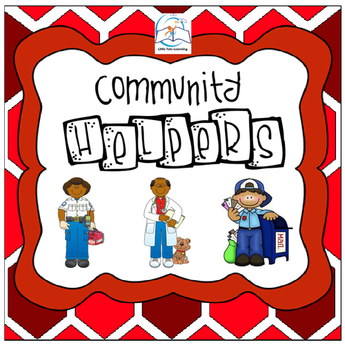Community Helpers Theme for Preschool and Kindergarten