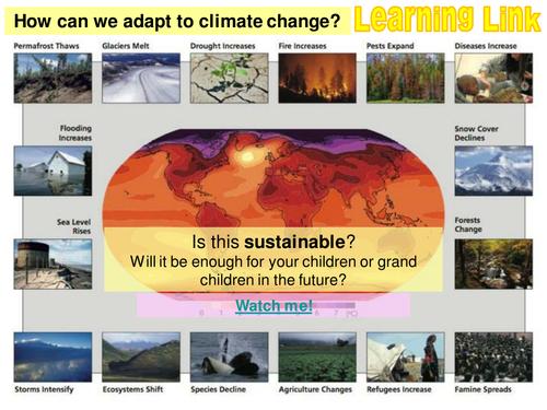CLIMATE CHANGE - 6. Managing climate change - Mitigation