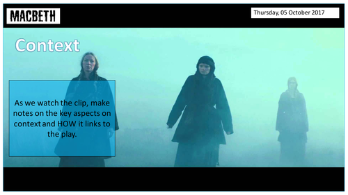 Macbeth Revision (9-1) Act 4 and 5