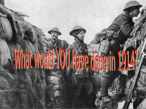 WWI What Would You Do? Interactive Roleplay (Private Peaceful)