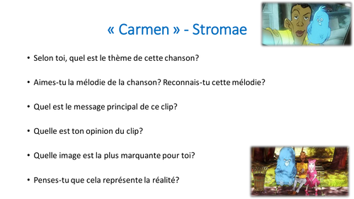 Carmen (Stromae): questions on the video clip