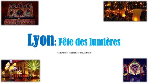 Lyon: la fête des lumières