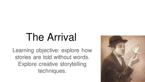 Reading Shaun Tan's The Arrival - whole book highlight activities