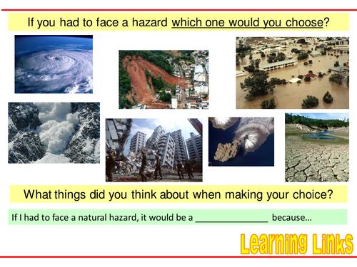 NATURAL HAZARDS - 2. Risk factors