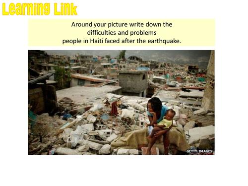 TECTONIC HAZARDS - 8. Responses to Haiti earthquake