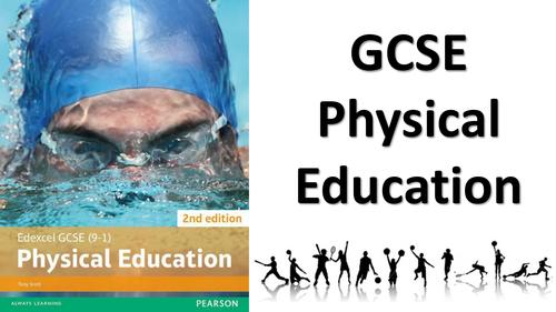 2016 NEW SPEC Edexcel GCSE PE - FULL COURSE RESOURCE