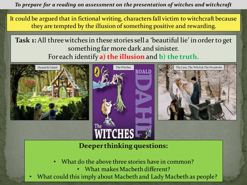 KS3 - Macbeth & Witchraft Context Intro (lesson 5)