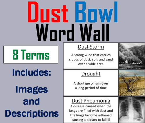 the dust bowl and the wall